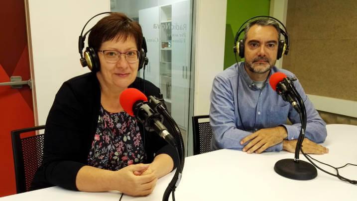 Entrevista a RàdioNova a Montserrat Garcia i Fran Fernàndez, presidenta i director de l'Associació SMCAnoia